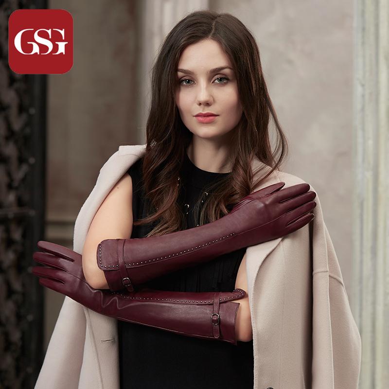 Женские перчатки с мехом Артикул 558411447854