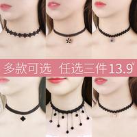 2020年新款锁骨链颈链短款脖子装饰品颈带ins项链女潮网红脖颈链