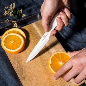 现货日本进口puebco黑白简约陶瓷刀