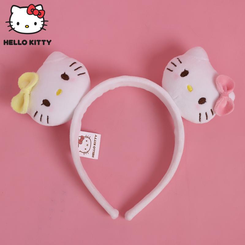 长亿头箍hellokitty发箍kitty凯蒂猫耳朵可爱儿童成人生日头饰