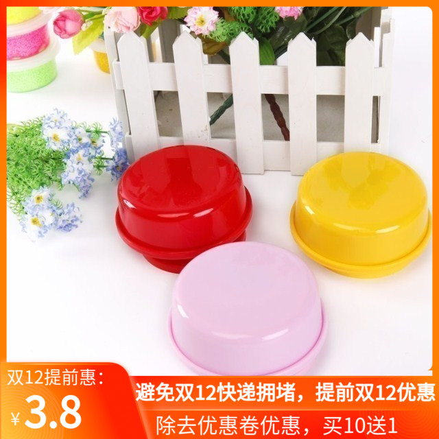 Super light paper clay putty creative hand DIY accessories eight sound box rotating music box clay base