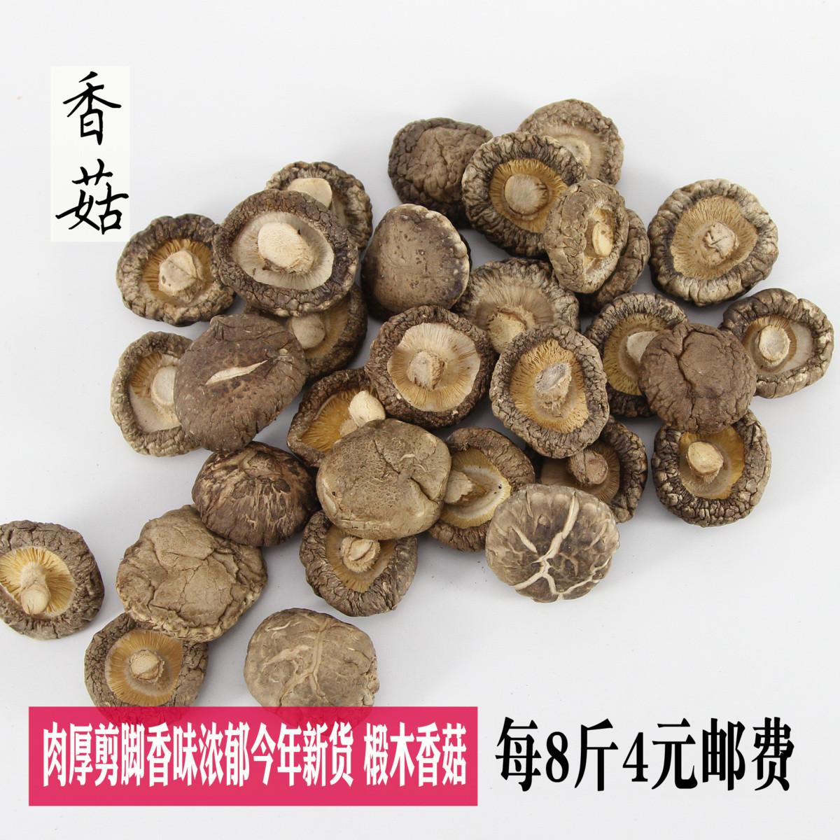 大香菇干货500g散装椴木剪脚大香菇金钱菇山珍煲汤食材干蘑菇批发