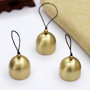 永生花挂件 风铃及配件开口金属纯铜小铃铛手工diy材料圣诞铃铛