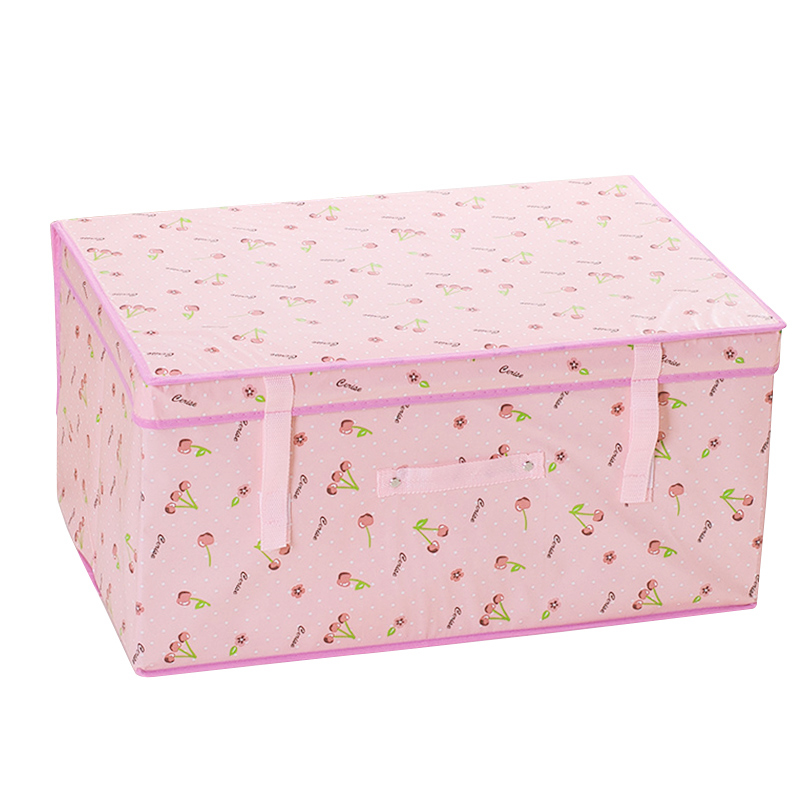 收納箱布藝有蓋折疊儲物箱特大號兒童玩具收納盒無紡布衣服整理箱