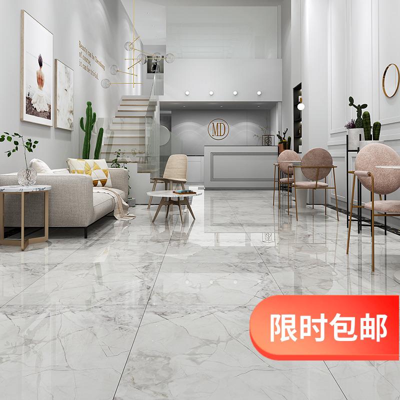 36.00元包邮通体大理石瓷砖800x800客厅地砖现代简约防滑室内地板砖背景墙砖