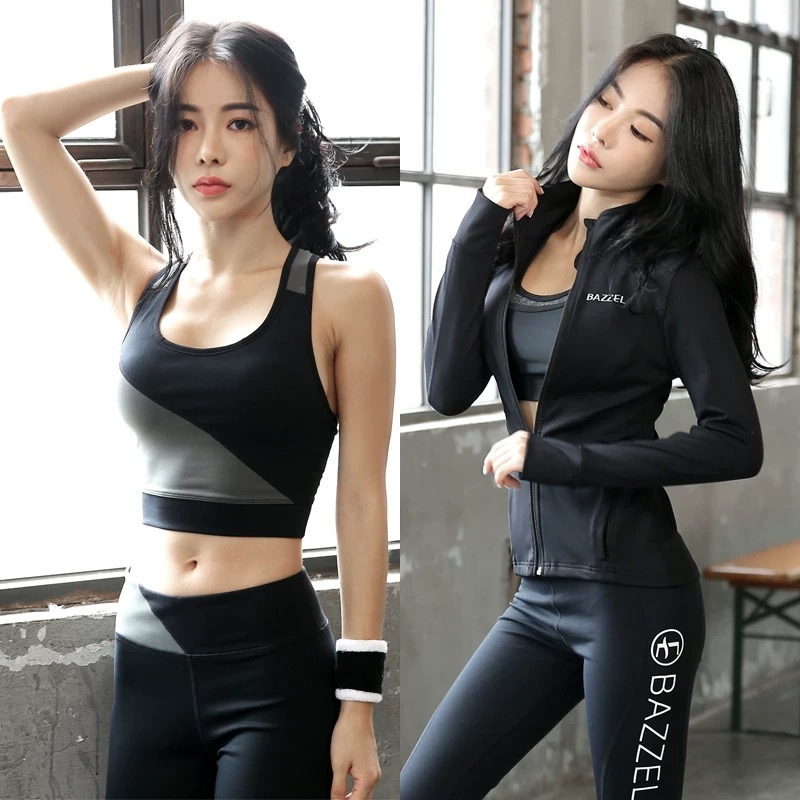 Professional yoga clothing autumn gym sports suit women sexy fashion running network red high end show thin autumn and winter