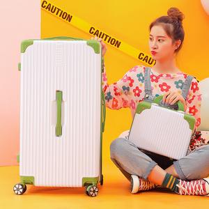 行李箱大容量32寸男潮子母密码箱个性学生旅行箱女皮箱拉杆箱24寸