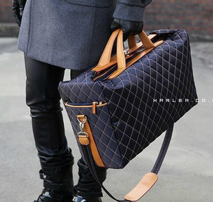 Strengthen the special price 2014 Korean fashion travel large capacity mens hand-held slant cross mens bags womens bags large bags