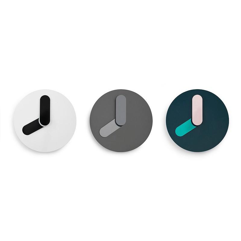 丹麦个性挂钟北欧客厅创意静音时钟现代简约家用圆形卧室挂墙钟表