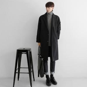 领10元券购买秋冬季韩版中长款风衣学生毛呢大衣