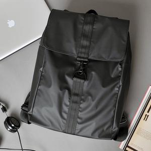 韓版簡約男士雙肩包校園女背包時尚潮流旅行包休閑大學生書包潮包
