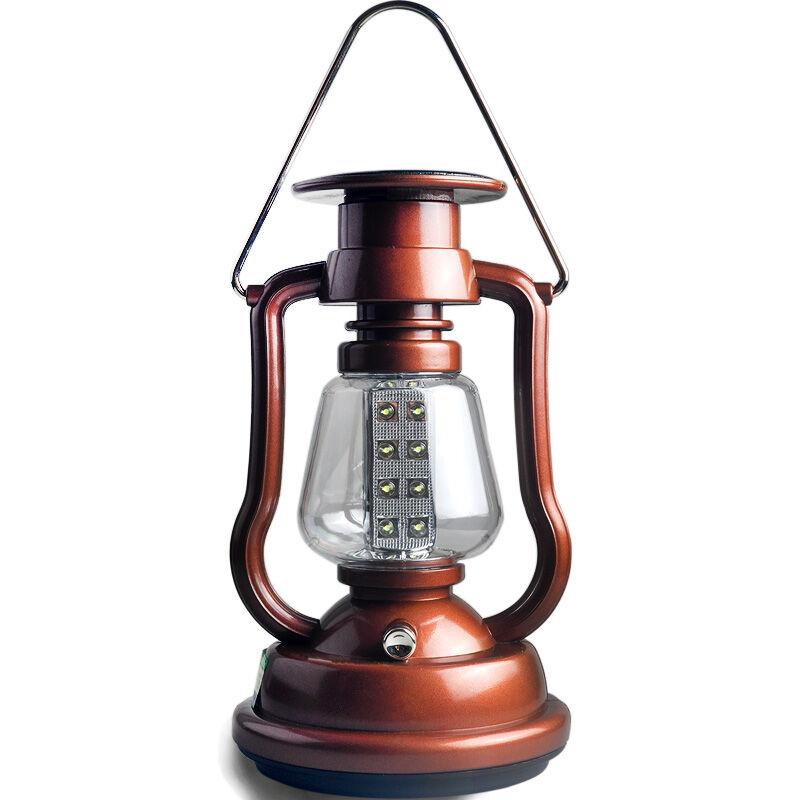 翰光复古怀旧充电led太阳能吊灯