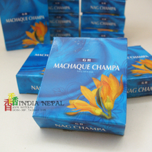 Full 60 package mail India imports natural manual GR tower conical aromatherapy champaca to promote business