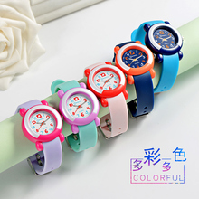 Mingrui children's watch girl's lovely simple quartz watch children's watch waterproof swimming boy's electronic watch