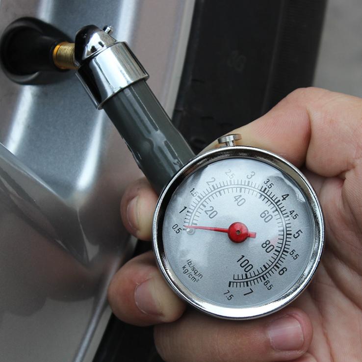 胎压表气压表高精度带充气汽车轮胎压监测器车用数显胎压计打气枪