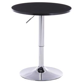 高脚桌吧台桌圆形简约鸡尾酒桌子升降小圆桌高脚酒吧白色吧椅组合图片