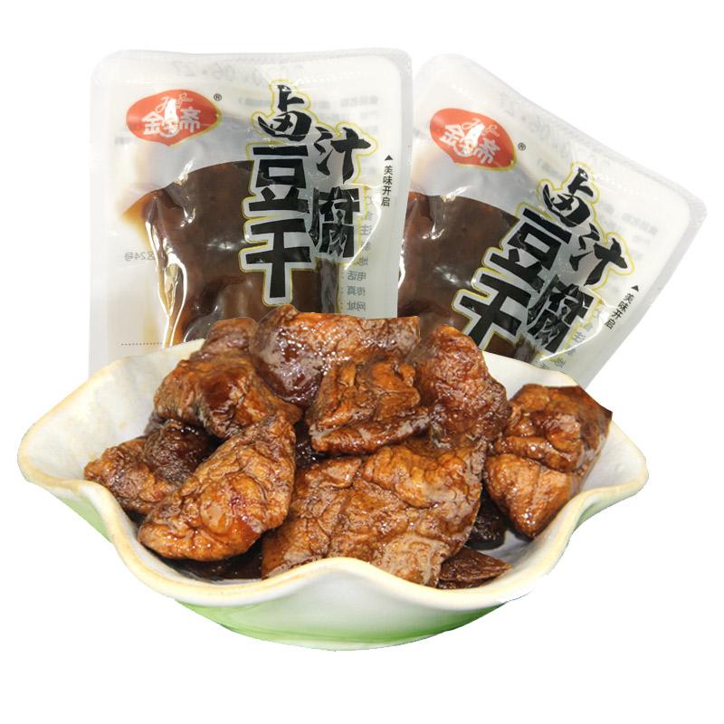 无锡特产金宝斋豆腐干500g独立小包装散装称重豆干甜味休闲豆腐干