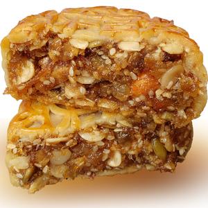 高州加头五仁月饼老式传统广东特产糕点零食茂名中秋广式袋装月饼
