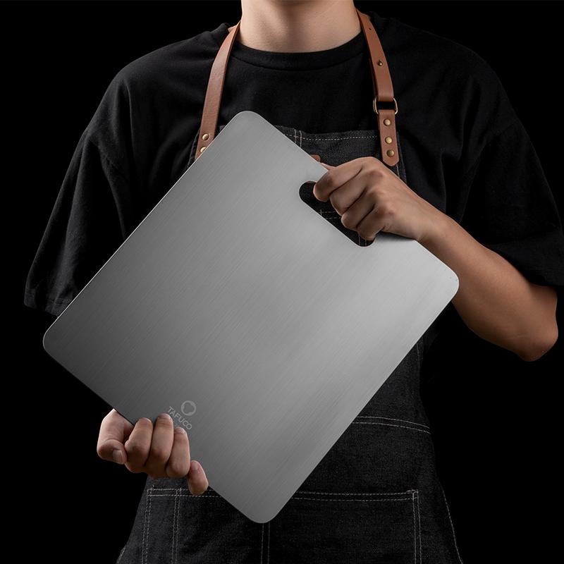 泰福高304不锈钢防霉菜板厨房家用面板揉面大砧板面板案板切菜板99.00元包邮