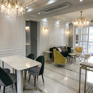 美式餐厅创意大气法式轻奢风客厅灯