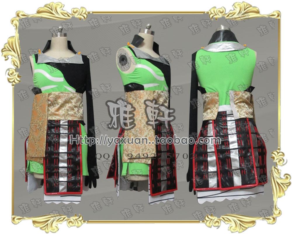 雅轩cosplay服装  战国 BASARA2  科斯