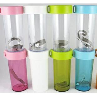 Commodities of high cup PP cup travel cup portable mug cup green transparent resin cup cup cup for high Straight summer models Cup