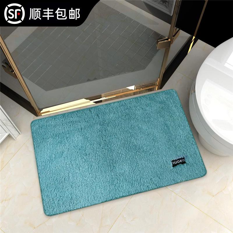 浴室マット吸水滑り止めマットトイレのカーペットドアマットトイレの寝室の入り口の家用マット