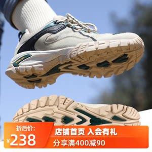 悍途登山鞋女低帮户外运动女鞋防水防滑透气轻便旅游爬山徒步鞋男