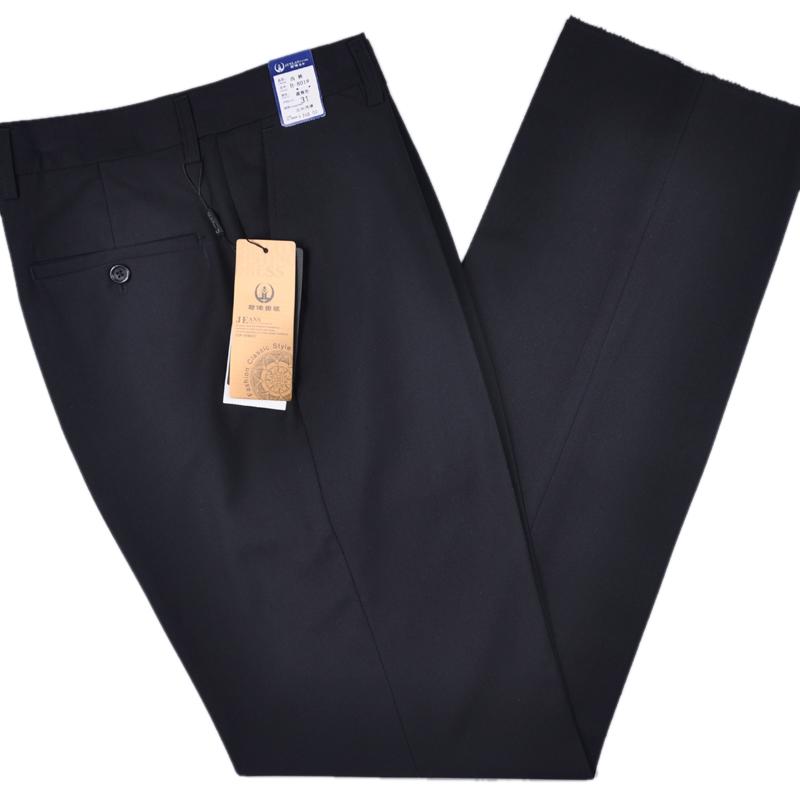 男士中年西裤宽松高腰夏季休闲裤好不好