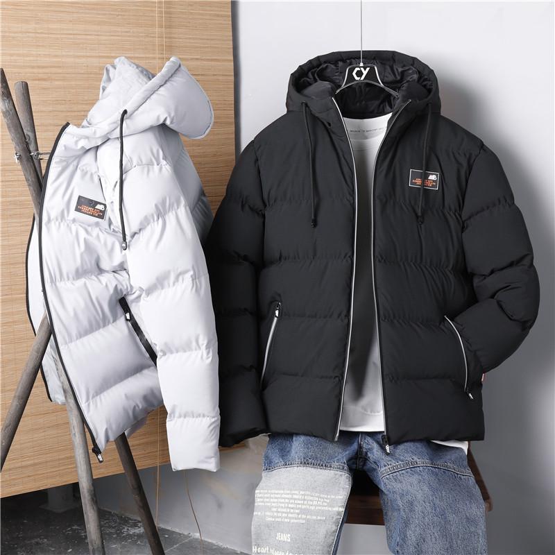 棉衣男2020年冬季新款加厚棉袄短款立领宽松休闲羽绒棉服外套潮流
