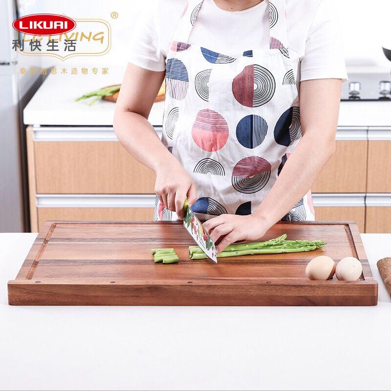 利快lcliving相思木揉面板家用和面板实木大号饺子切菜板擀面案板