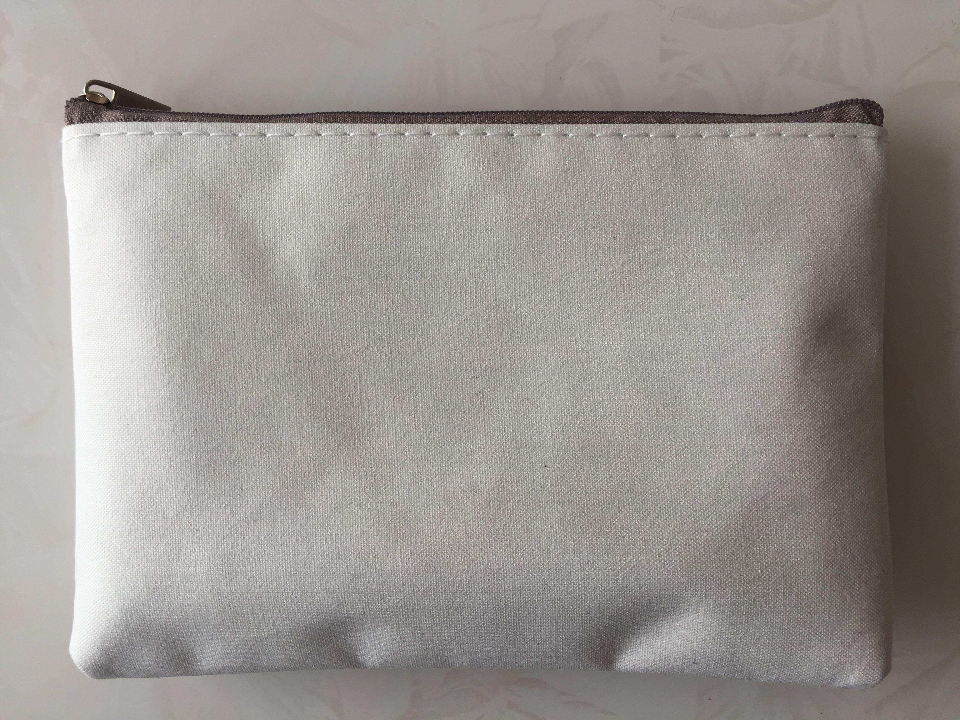 手繪空白錢包 帆布錢包 DIY手繪零錢包 手繪帆布包 來圖定製LOGO
