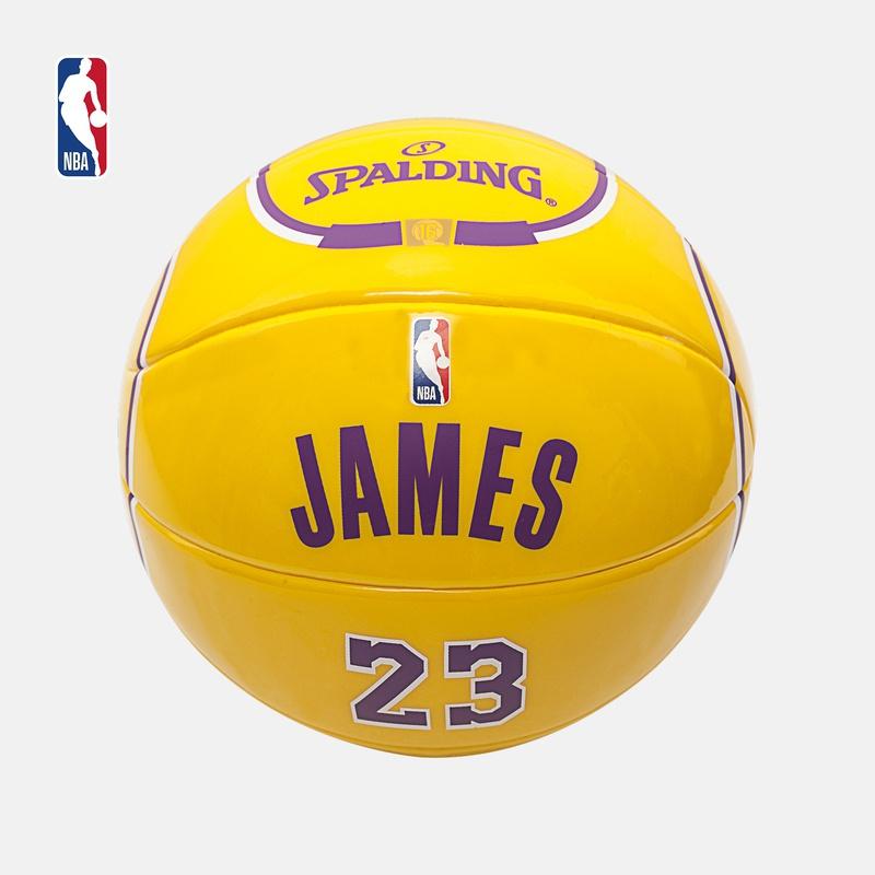 NBA-Spalding 詹姆斯/库里/字母哥/欧文 球星队服系列 观赏篮球图片