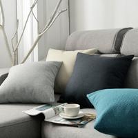 查看简约亚麻抱枕客厅沙发靠垫床头靠枕椅子靠背办公室腰枕抱枕套定制价格