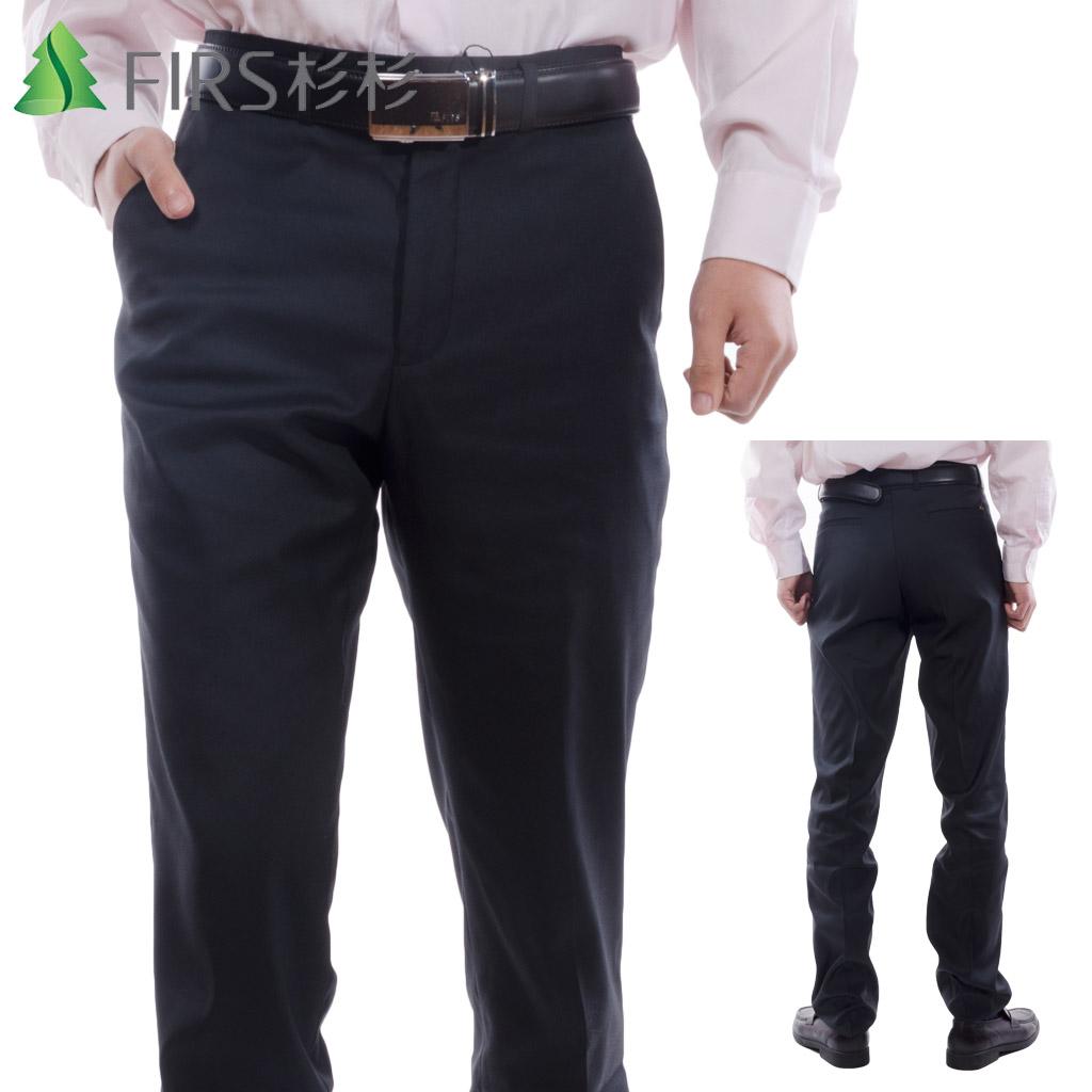 杉杉男装免烫西服裤商务休闲加厚西装裤职业正装中年裤子男士西裤
