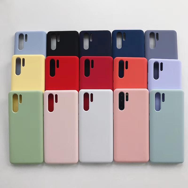 ins华为p30液态硅胶全包手机壳(非品牌)