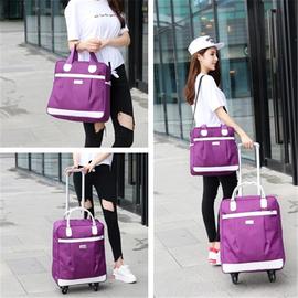 短途旅游包大容量行李袋登机拉杆箱女轻便旅行袋出差男行李子母包