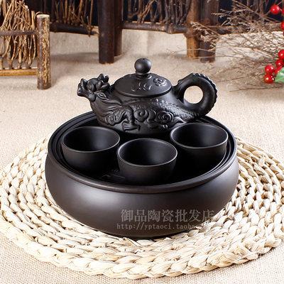茶具套装特价紫砂茶壶茶盘茶道整套陶瓷宜兴功夫办公室家用