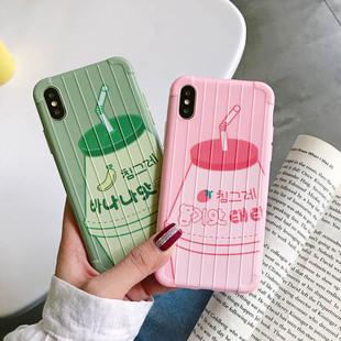 草莓牛奶瓶iphonexsmax苹果手机壳