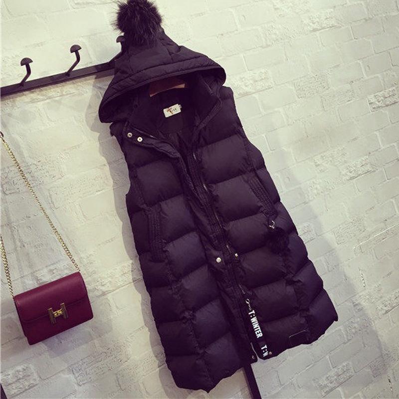 2017 новый большой размер женщин осень зима жилет 200 цзин, единица измерения веса жир mm корейский свободный толстый сестра хлопок тонкий пальто