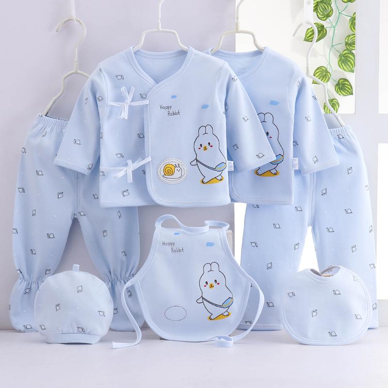 新生儿套装纯棉0-3月婴儿衣服秋冬用品刚出生初生满月宝宝礼物