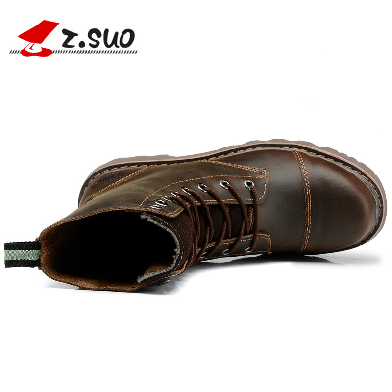 Mens shoes fashion mens boots British Martin boots mens spring Cowboy Boots Mens military boots work clothes boots outdoor