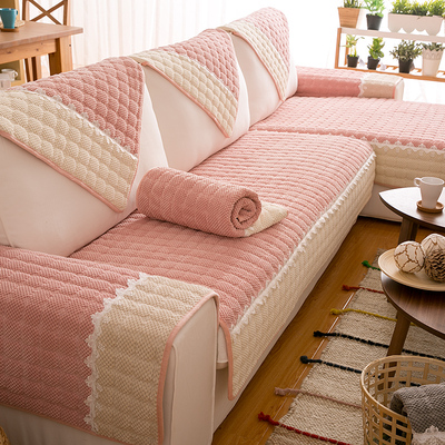 沙发垫北欧防滑布艺四季通用套罩巾皮坐垫子全包万能盖布加厚定做