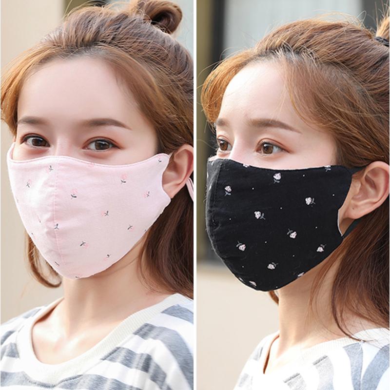 口罩 防尘 透气易呼吸纯棉秋冬天冬季时尚韩版立体透气男女士口罩图片