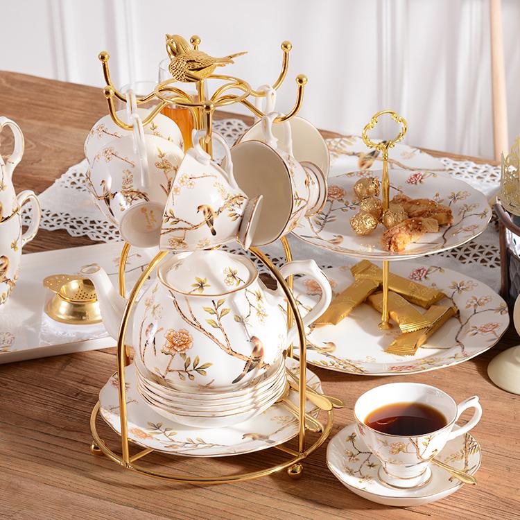 Чашки установите британская днем ароматный чай чайный сервиз черный чай чашка керамика чашка домой кофе континентальный чашка инструмент