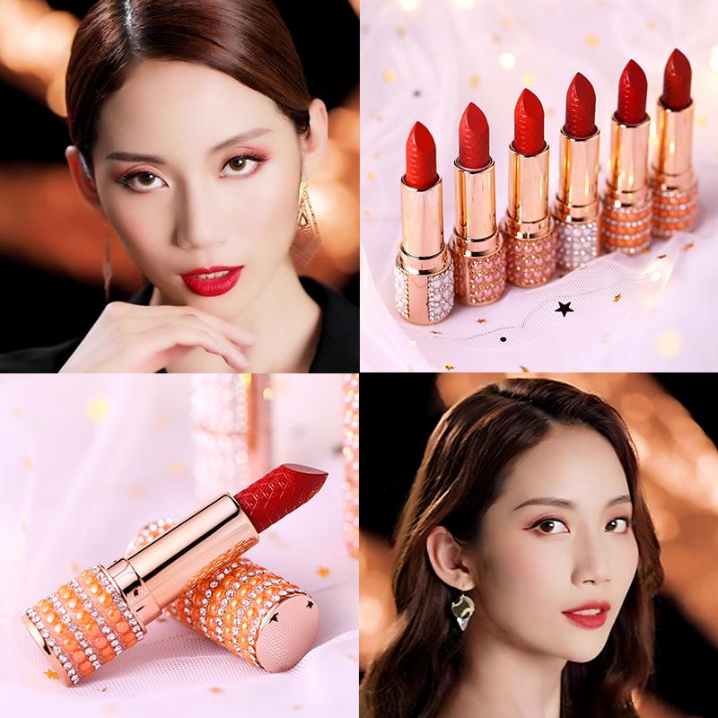 10月17日最新优惠女学生款小众品牌ins超火珍珠口红