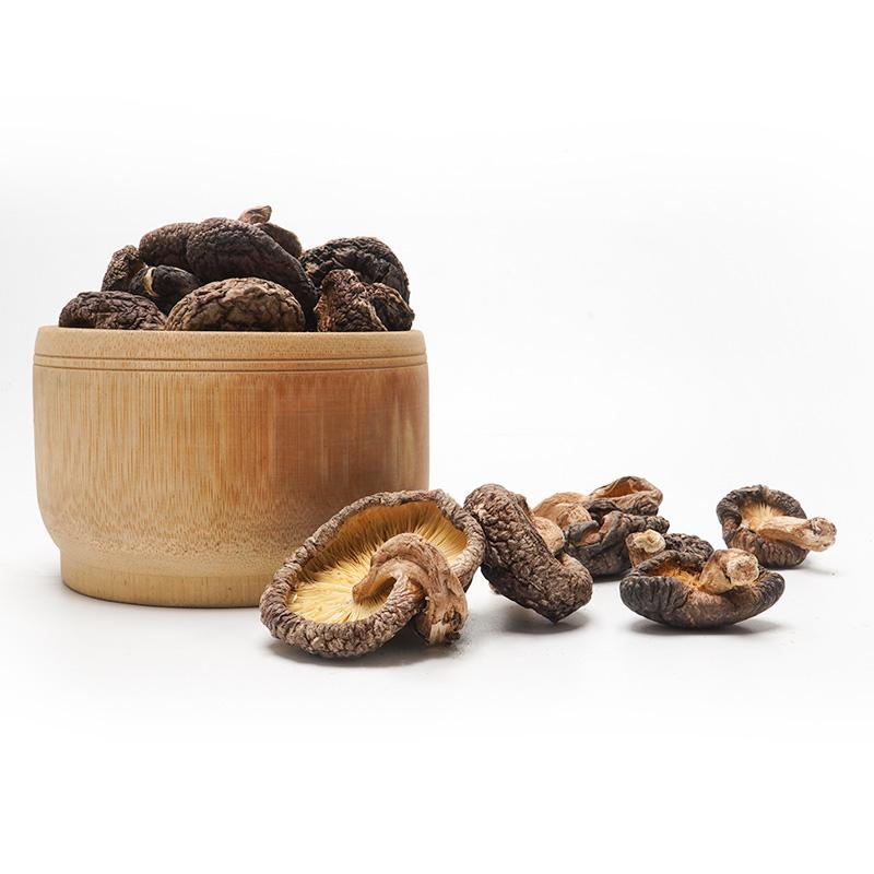 好客山里郎武夷山脉野生椴木香菇干货250g无根肉厚小蘑菇包邮顺丰
