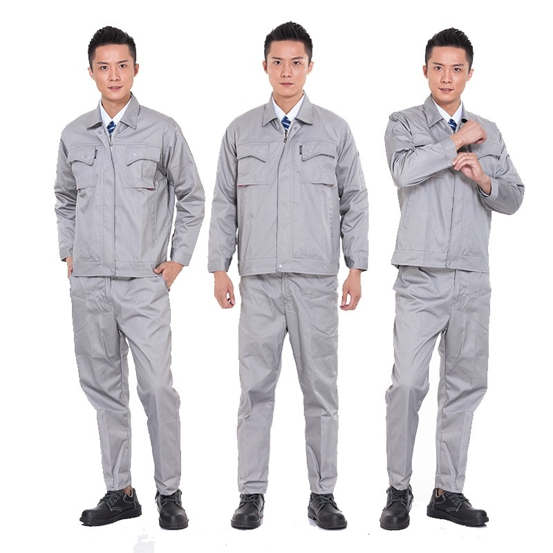 Long sleeve anti-static uniform gas station work clothes electrical clothing supervision safety construction staff clothing
