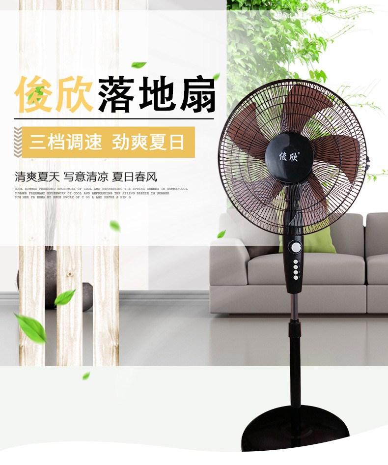 大力电风扇台式家用台扇16寸迷你落地扇小型电冈扇宿舍坐扇大台扇