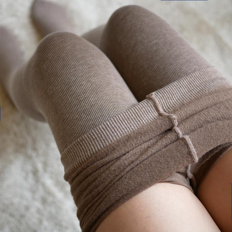 小宇宙瘦小腿780D发热薄绒连裤袜秋冬加厚微压美腿抗起球打底袜
